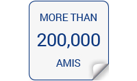 200,000 AMIS worldwide!