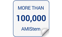 100,000 cementless AMIStem implanted worldwide!