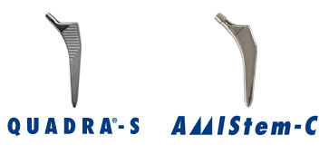 メダクタ社は日本でQUADRA-S セメントレスステムとAMIStem-Cセメントステムの2種類の人工股関節大腿骨ステム の薬事承認を取得したことをお知らせ致します。